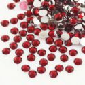 Jewel Embellishments, Resin, Burgandy, Faceted Discs, 4mm x 4mm x 1.2mm, 300  pieces, (ZSS063)